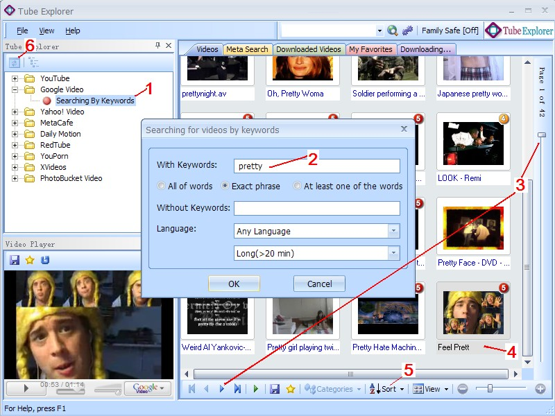 Google Video Finder